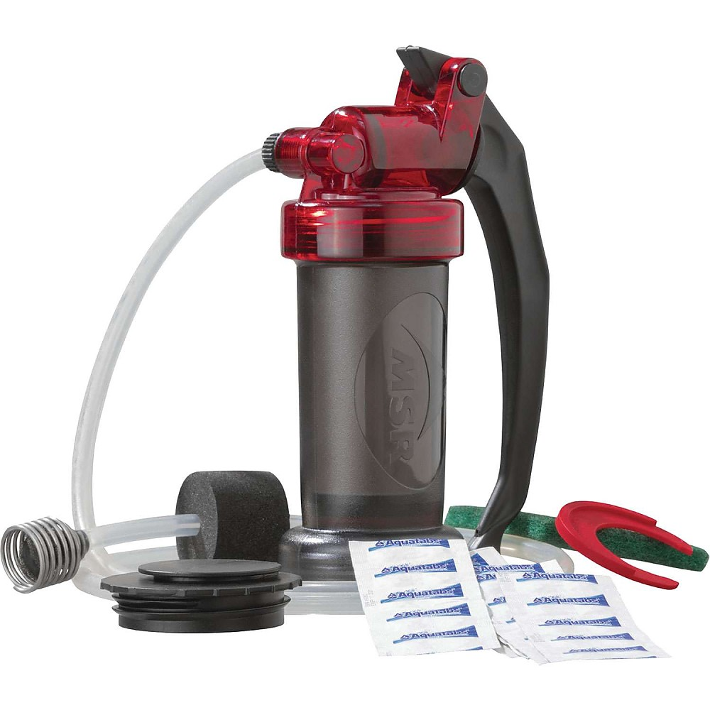 photo: MSR MiniWorks EX pump/gravity water filter