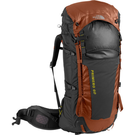 photo: The North Face Primero 60 weekend pack (3,000 - 4,499 cu in)