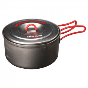 Evernew Ti Ultralight Deep Pot .9L