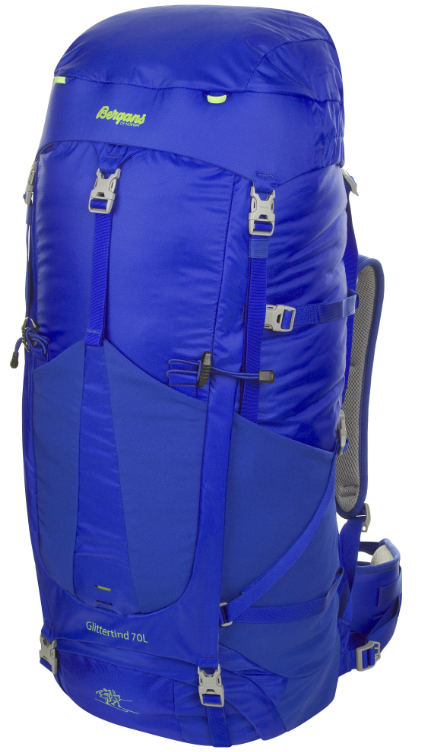 photo: Bergans Glittertind 70 weekend pack (50-69l)