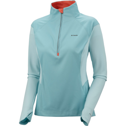 photo: Columbia Windefend 1/2 Zip wind shirt