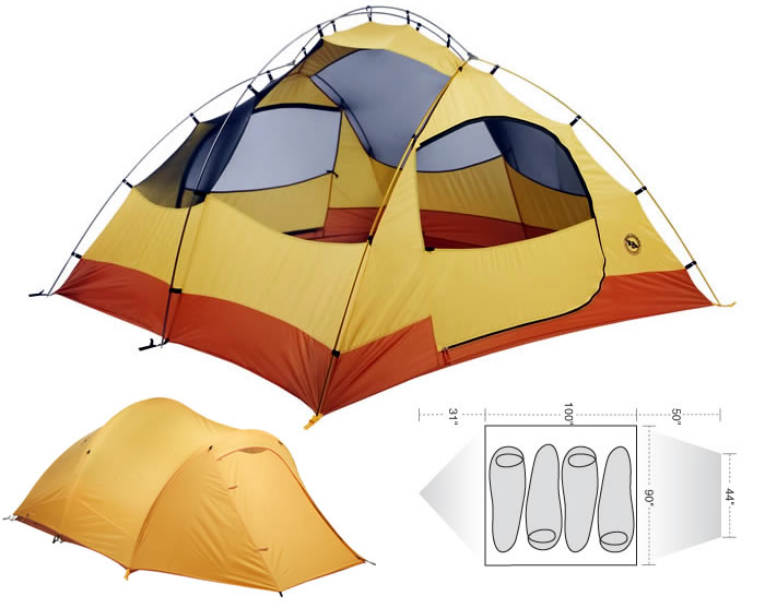 photo: Big Agnes Pine Island 4 three-season tent