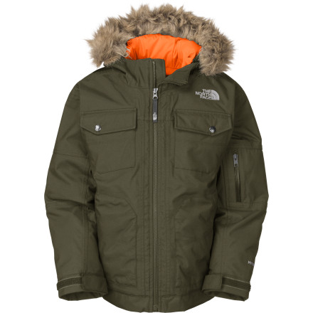 photo: The North Face Boys' Yellowband Parka down insulated jacket
