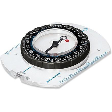 photo: Brunton 10B Baseplate Compass handheld compass