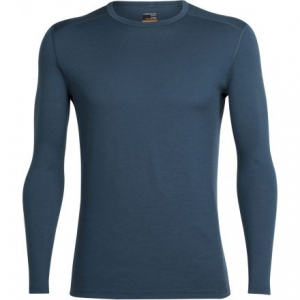photo: Icebreaker Men's Oasis Long Sleeve Crewe base layer top