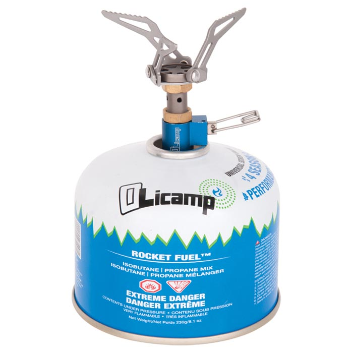 photo: Olicamp Ion Micro Titanium Stove compressed fuel canister stove