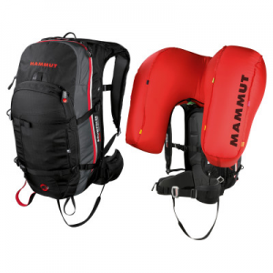 photo: Mammut Pro Protection Airbag ready avalanche airbag pack