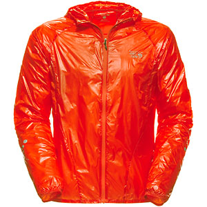 photo: Mountain Hardwear Men's Ghost Whisperer Hooded Jacket wind shirt