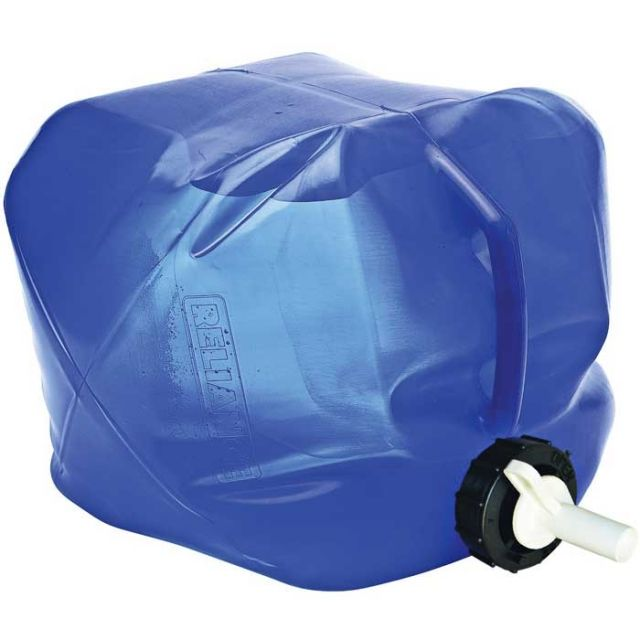 photo: Reliance Fold-A-Carrier II water storage container