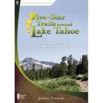 photo: Menasha Ridge Press 5 Star Trails Around Lake Tahoe Book us mountain states guidebook