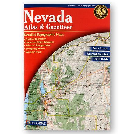 DeLorme Nevada Atlas and Gazetteer