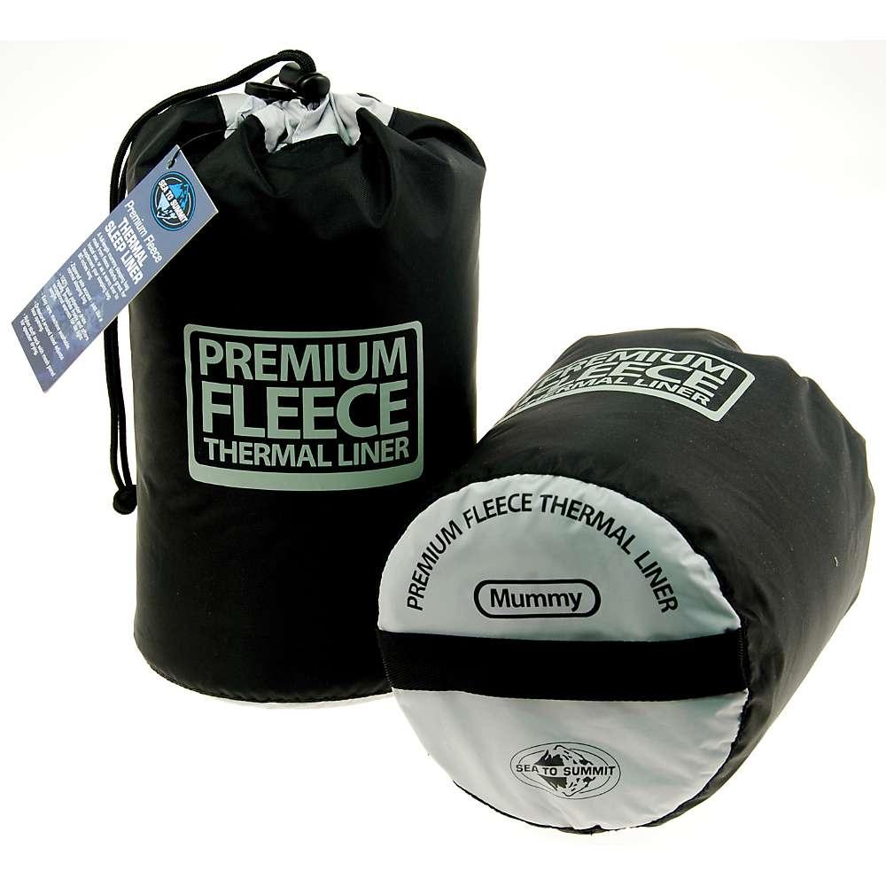 photo: Sea to Summit Toaster Fleece Liner sleeping bag liner
