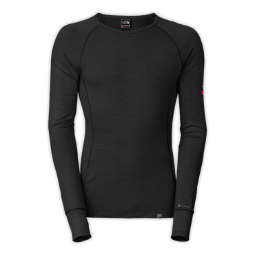 photo: The North Face Warm Merino Crew base layer top