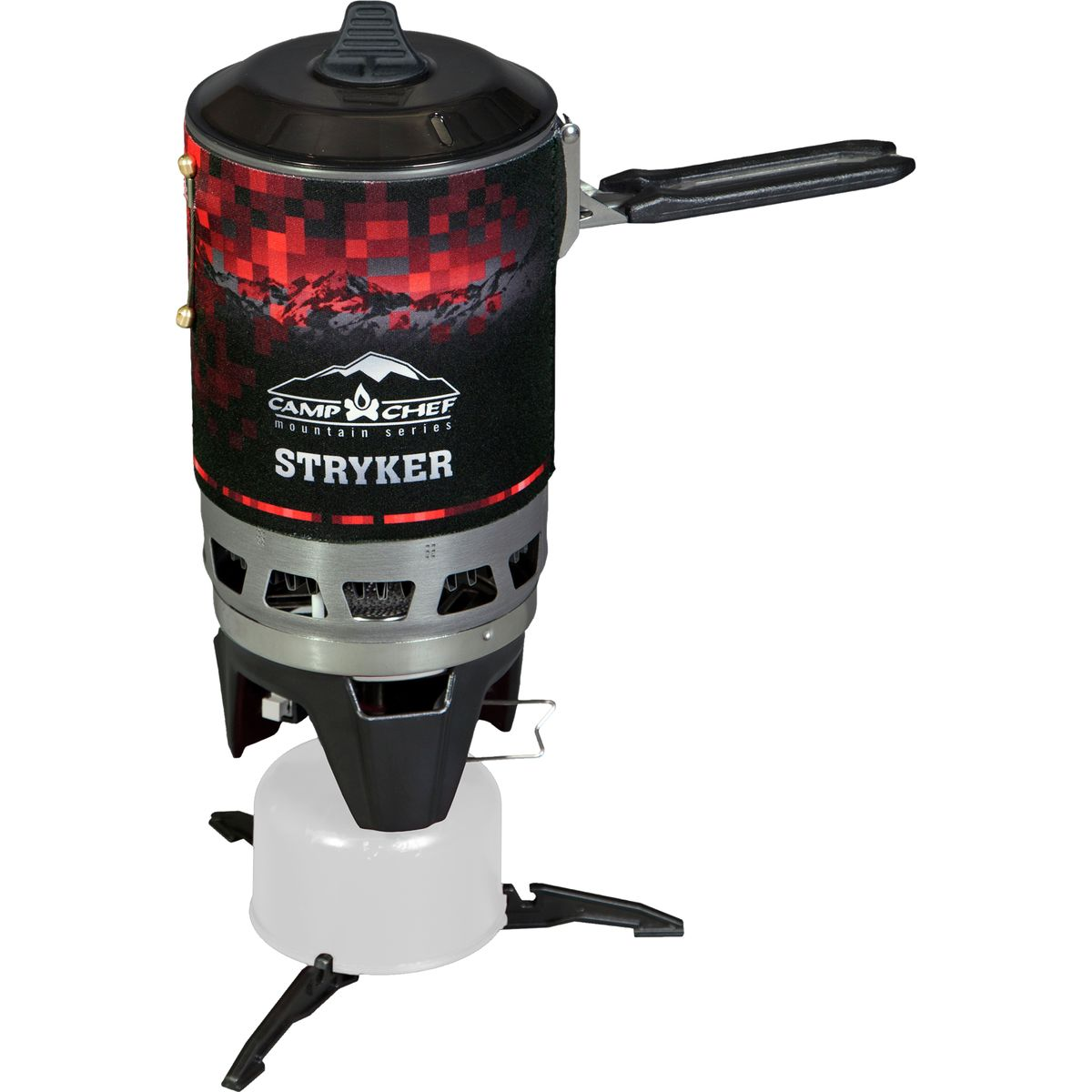 photo: Camp Chef Stryker 100 Isobutane Stove compressed fuel canister stove