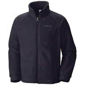 photo: Columbia Girls' Benton Springs Printed Fleece fleece jacket
