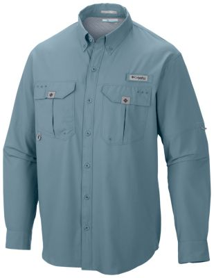 photo: Columbia Blood and Guts II Long Sleeve Woven Shirt hiking shirt