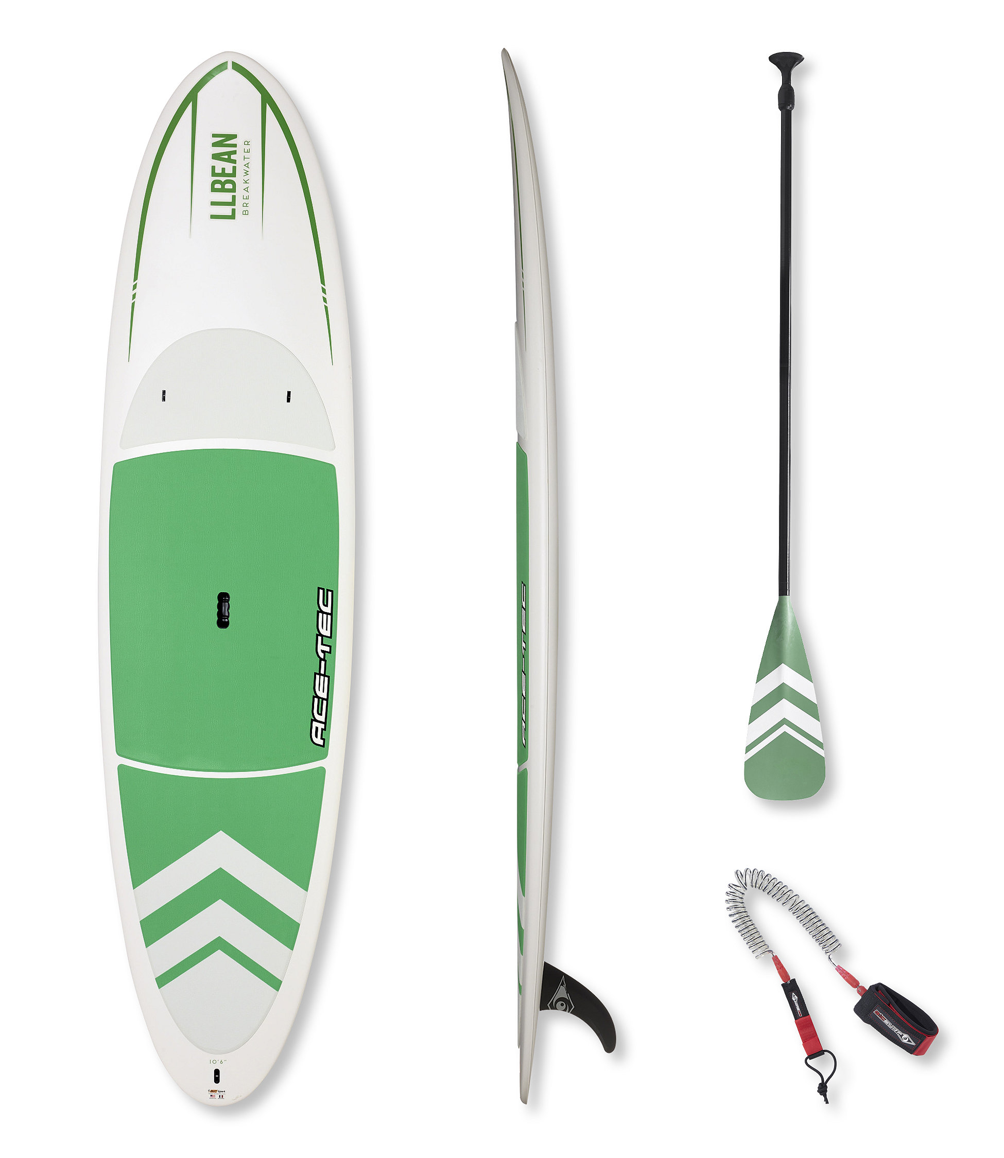 L.L.Bean Breakwater Stand Up Paddle Board Package, 10'6