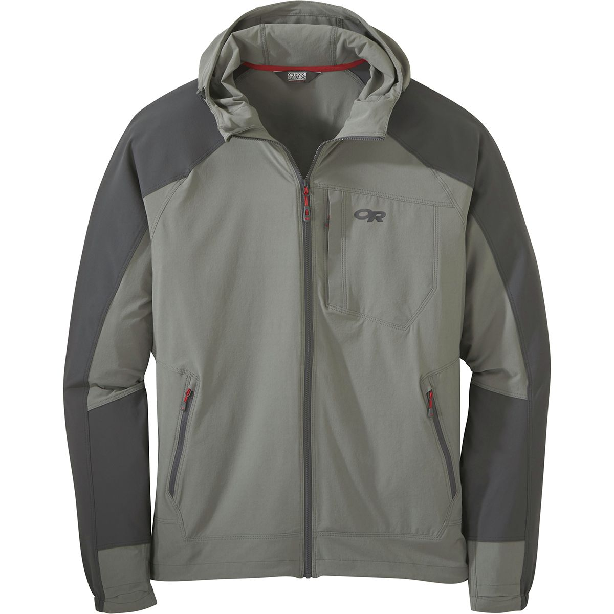 photo: Outdoor Research Ferrosi Hooded Jacket soft shell jacket