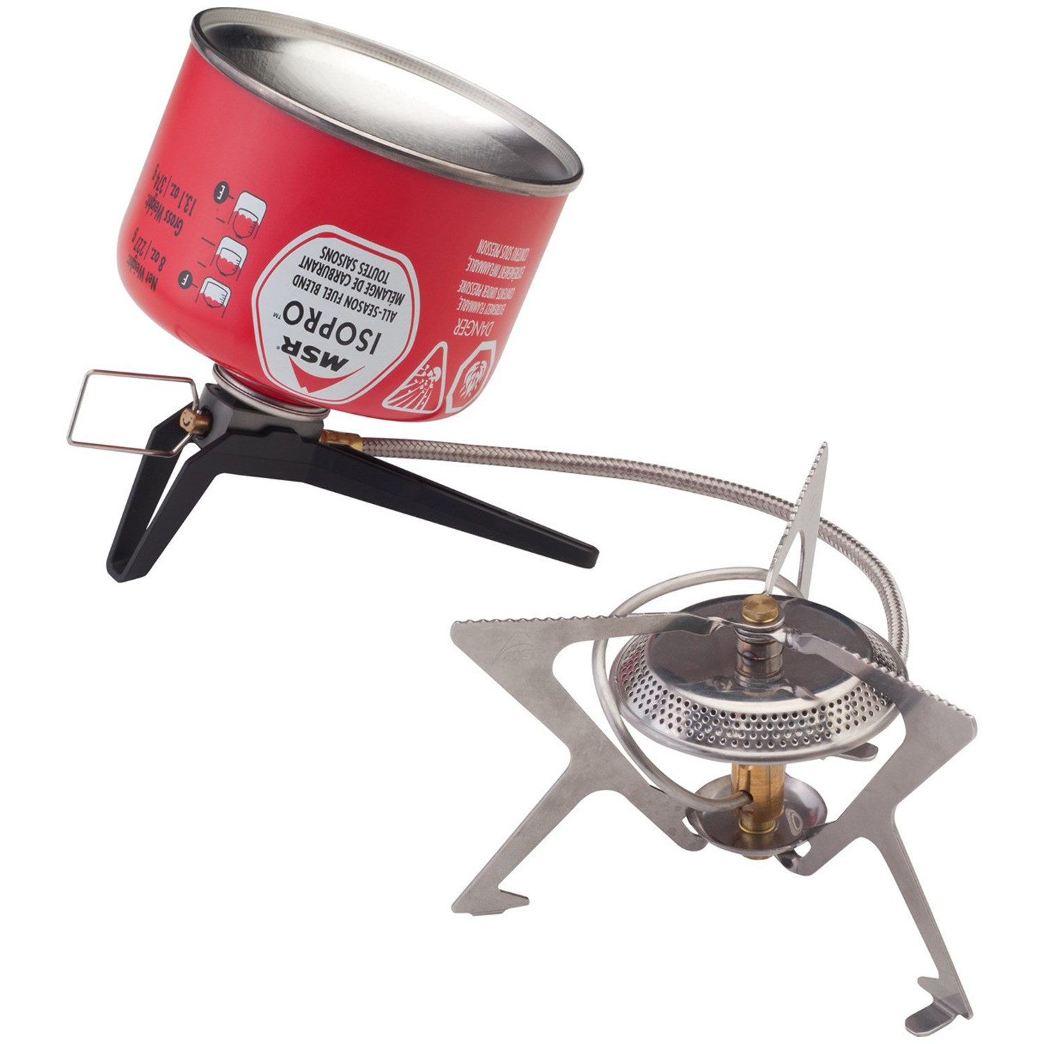 photo: MSR WindPro II compressed fuel canister stove