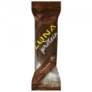 photo: Clif Luna Protein Chocolate nutrition bar