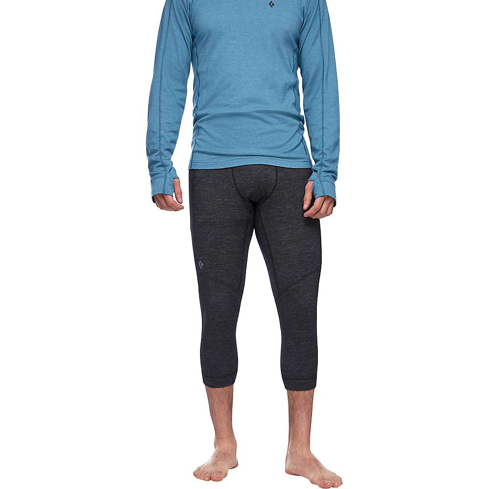 photo: Black Diamond Men's Solution 150 Merino Base 3/4 base layer bottom