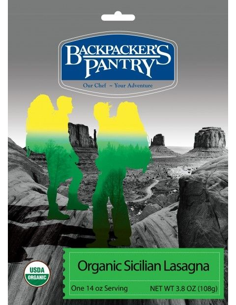 Backpacker's Pantry Organic Sicilian Lasagna