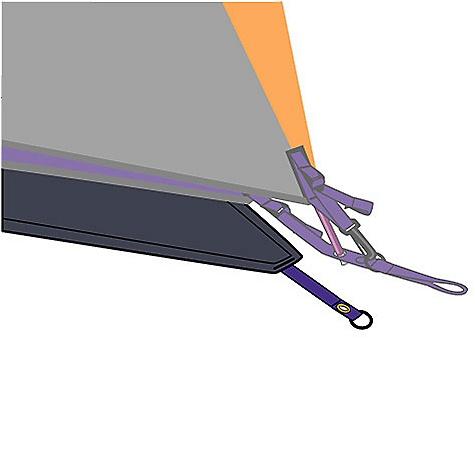 photo: Mountain Hardwear SkyLedge 2.1 Footprint PL footprint
