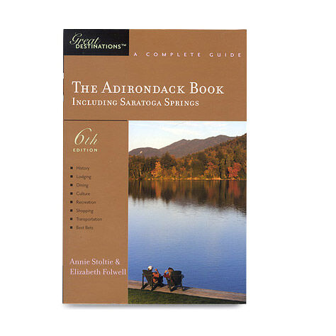 photo: Countryman Press The Adirondack Book us northeast guidebook