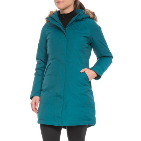 photo: The North Face Women's Arctic Parka down insulated jacket