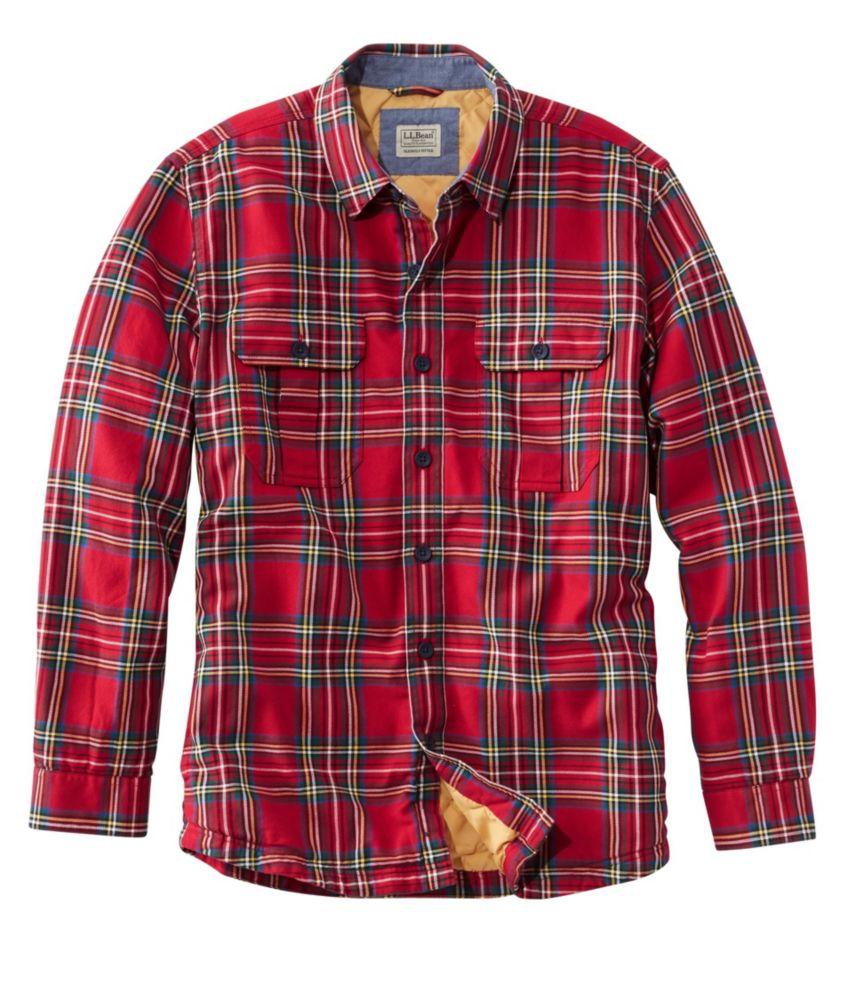 L.L.Bean Primaloft-Lined Shirt-Jac