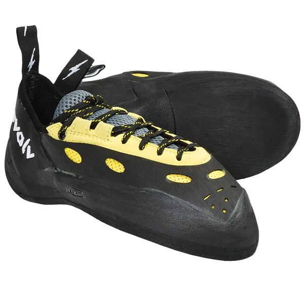 photo: evolv Prime Lace climbing shoe