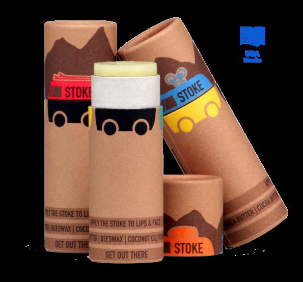 Stoked Goods Stoke Lip & Face Balm
