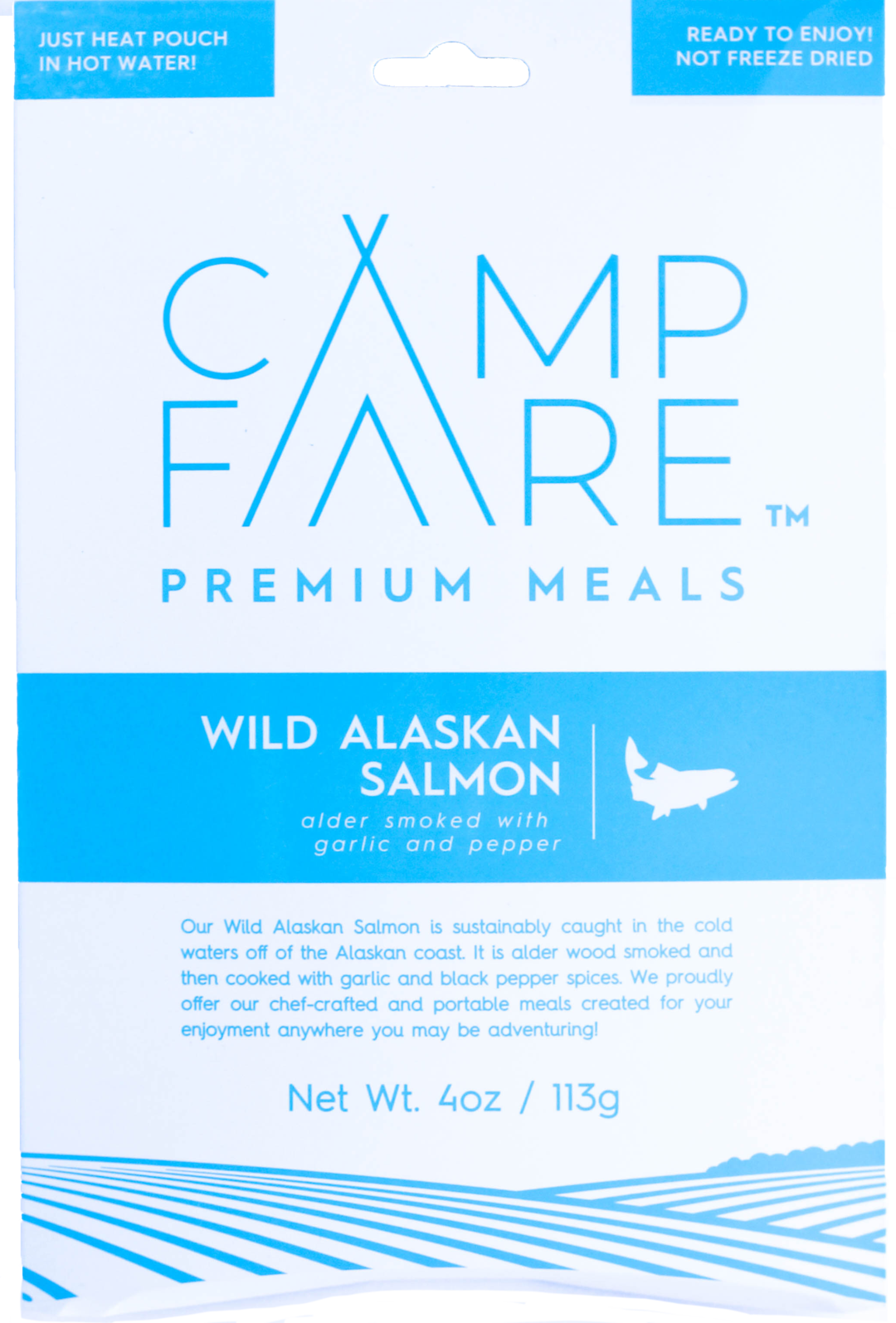 CampFare Wild Alaskan Salmon