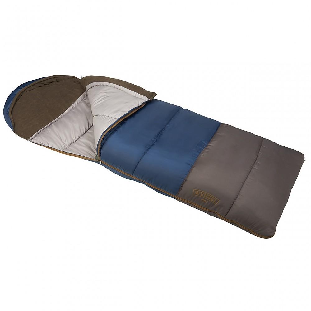 photo: Wenzel Monterey 30°-40° Hooded Sleeping Bag warm weather synthetic sleeping bag