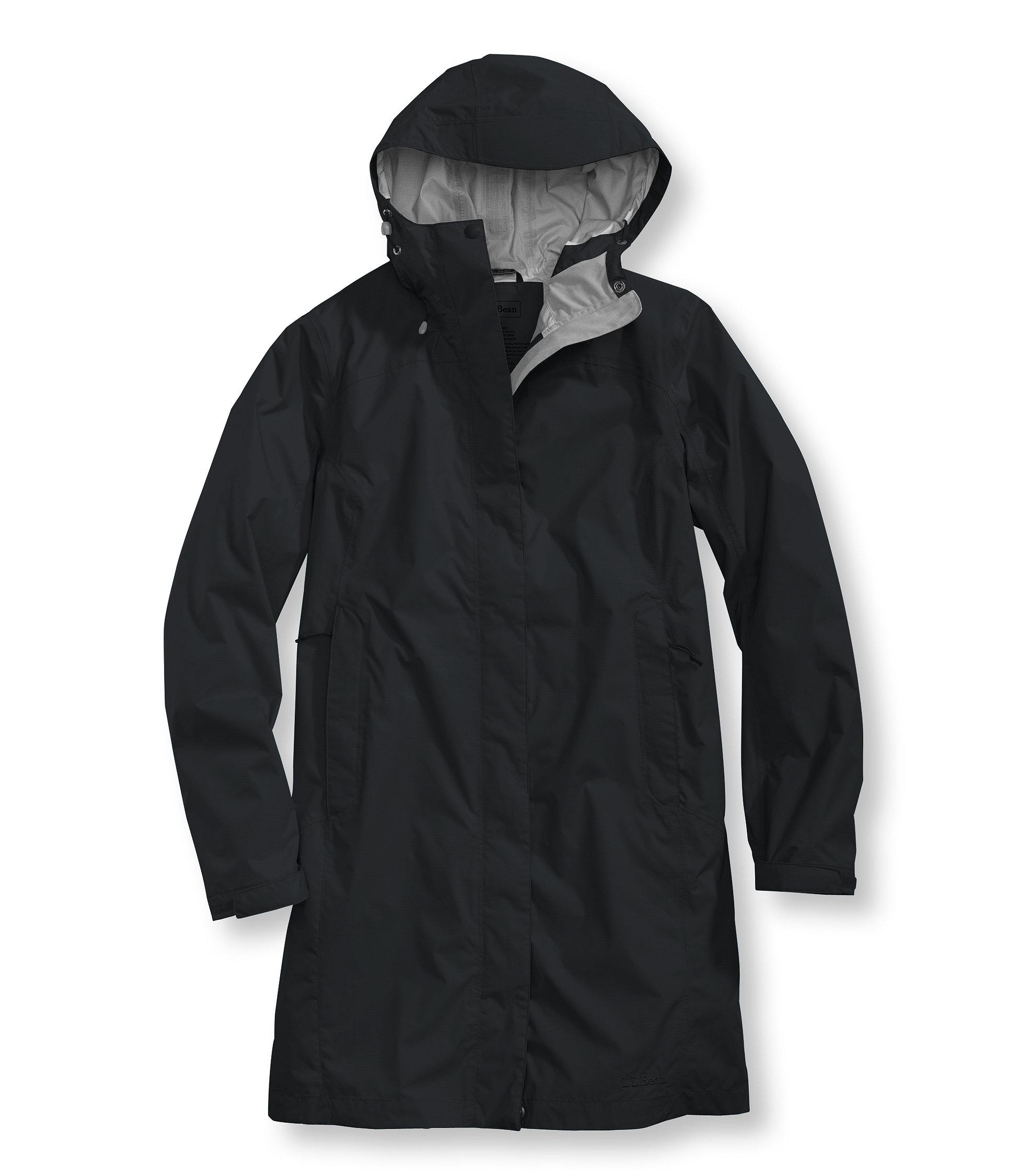 photo: L.L.Bean Women's Trail Model Raincoat waterproof jacket