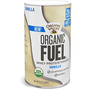 Organic Valley Organic Fuel Whey Protein Powder