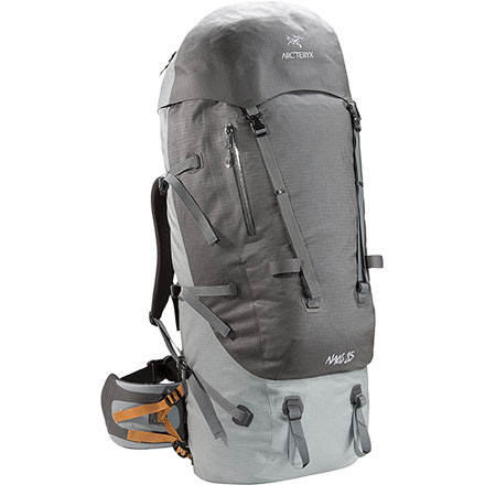 photo: Arc'teryx Naos 85 expedition pack (4,500+ cu in)