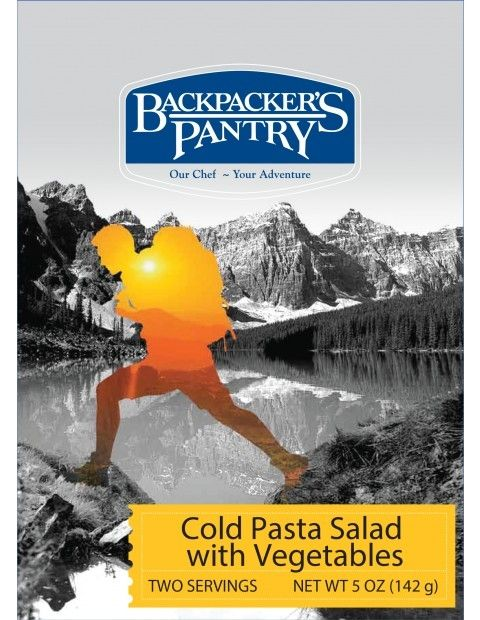photo: Backpacker's Pantry Cold Pasta Salad with Vegetables vegetarian entrée