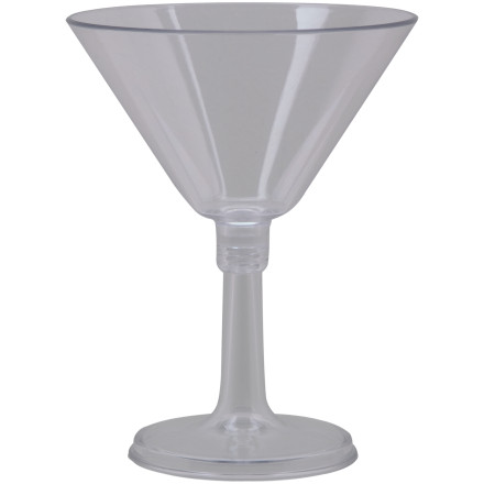 photo: GSI Outdoors Lexan Resin Martini Glass cup/mug