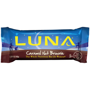 photo: Clif Luna Caramel Nut Brownie Bar nutrition bar