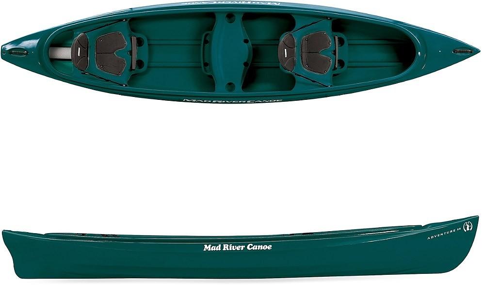 photo: Mad River Adventure 14 recreational canoe