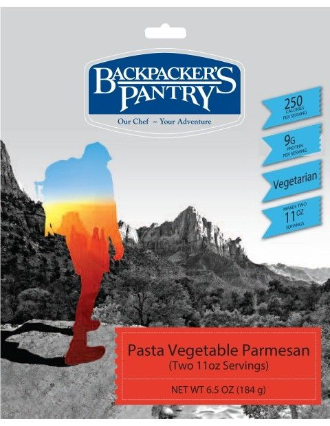 photo: Backpacker's Pantry Pasta Vegetable Parmesan vegetarian entrée