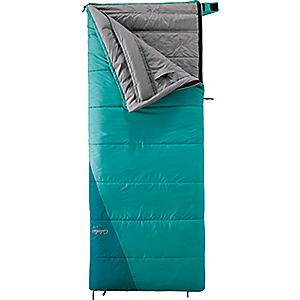 photo: Cabela's Women's Getaway Rectangle 15F Sleeping Bag 3-season synthetic sleeping bag