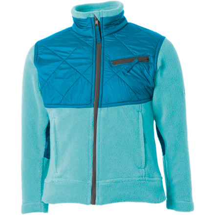 photo: Columbia Girls' Ballistic Fleece fleece jacket