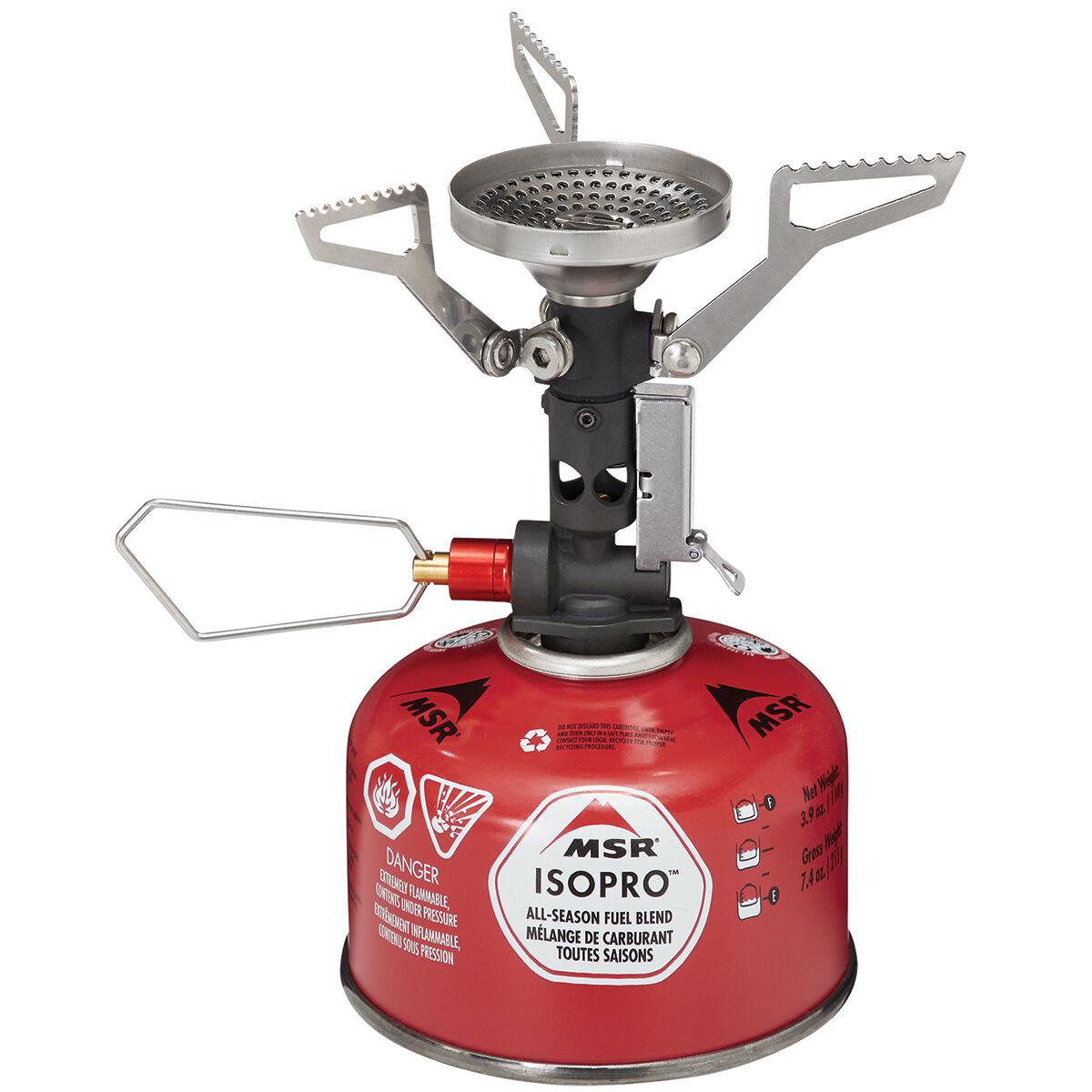 photo: MSR PocketRocket Deluxe compressed fuel canister stove