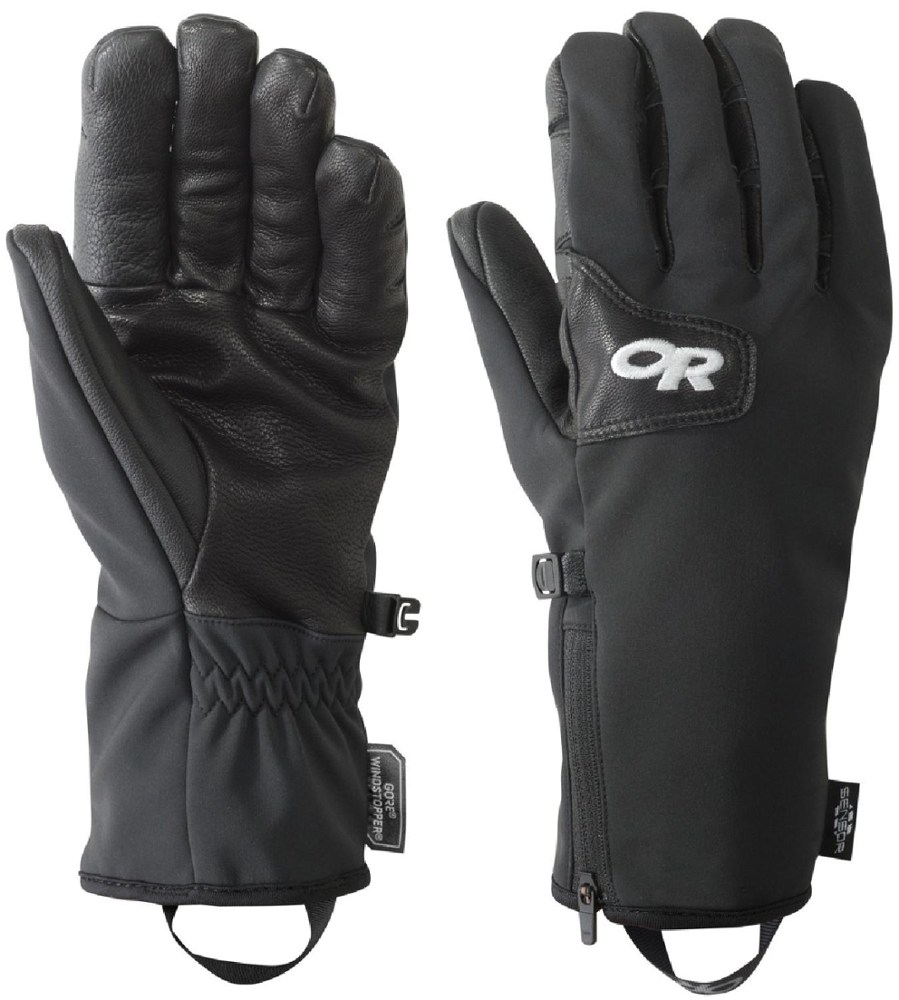 photo: Outdoor Research Stormtracker Gloves soft shell glove/mitten