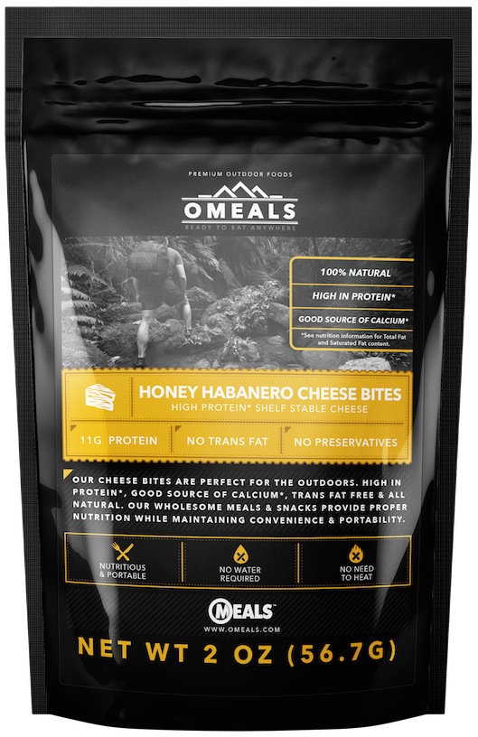 photo: OMeals Honey Habanero Cheese Bites snack/side dish