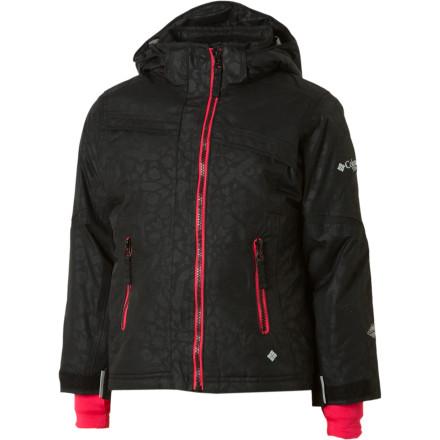 photo: Columbia Snow Flame Jacket snowsport jacket