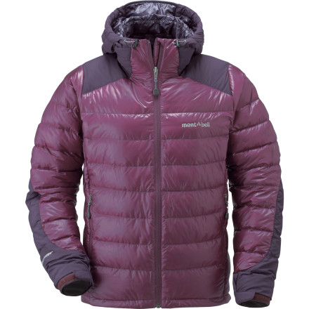 photo: MontBell Women's Frost Smoke Parka down insulated jacket