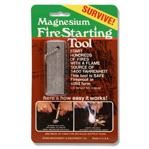 photo of a Doan fire starter